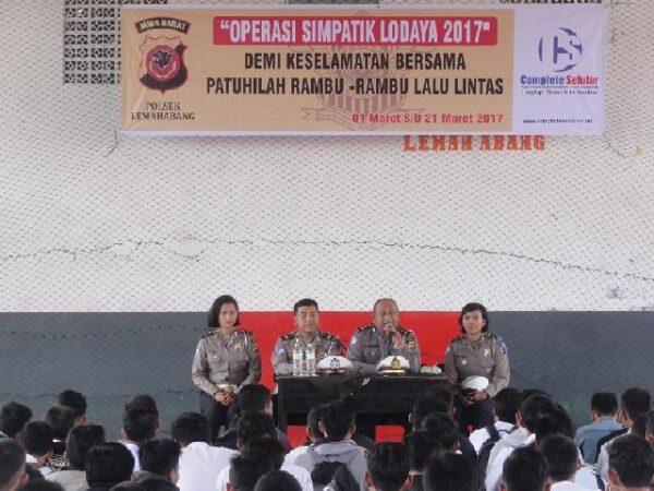 Album : Penyuluhan Operasi Lodaya Simpatik Polsek Lemahabang