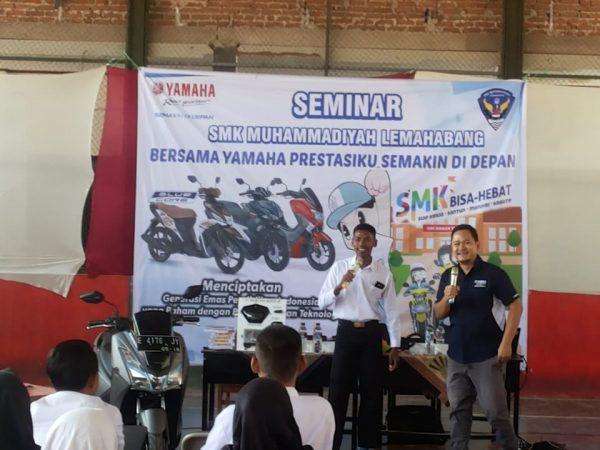 Seminar SMK bersama YAMAHA, Belajar Kita! Prestasi BANGSA!