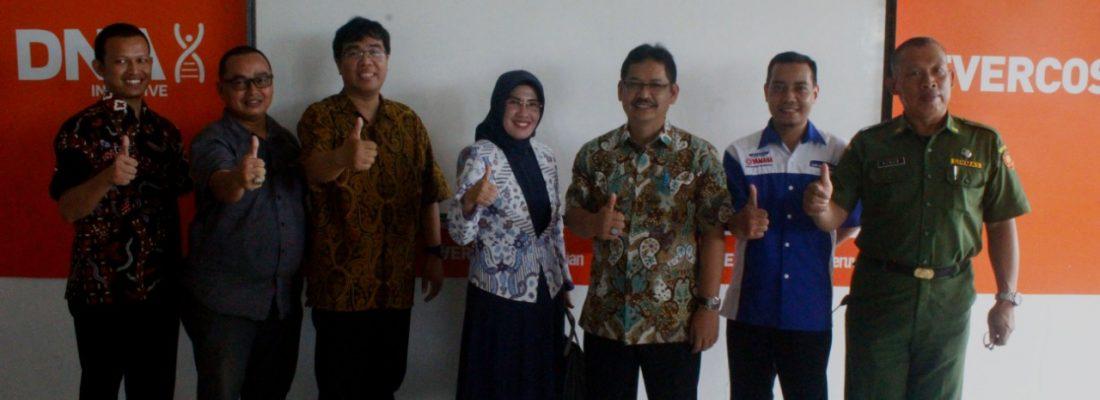 Launching Evercoss Class oleh Direktur PSMK JABAR