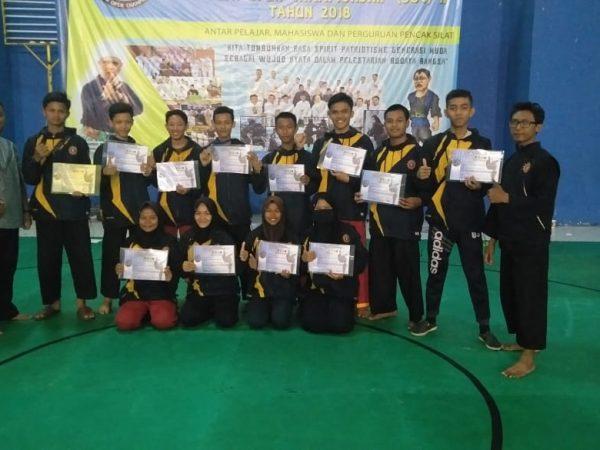 Tim Tapak Suci di Sukabumi Open Championship II