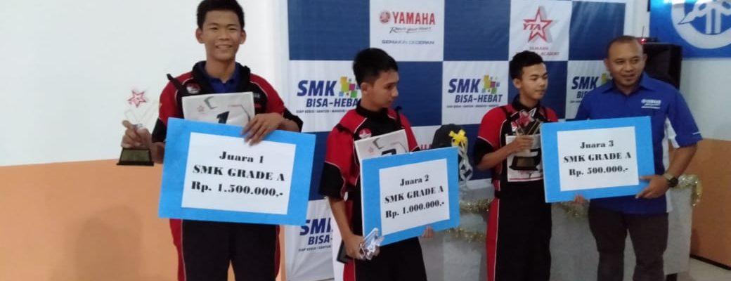 SMK Muhammadiyah LA raih juara 1 Ajang bergengsi YAMAHA